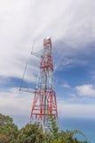 Ασύρματος τηλεφωνικός πύργος κυττάρων στοκ φωτογραφία με δικαίωμα ελεύθερης χρήσης