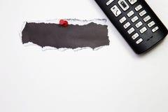 Ασύρματο τηλέφωνο στο άσπρο υπόβαθρο Στοκ εικόνα με δικαίωμα ελεύθερης χρήσης