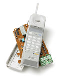 Ασύρματο τηλεφωνικό μικροτηλέφωνο Στοκ εικόνες με δικαίωμα ελεύθερης χρήσης