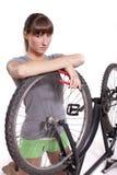 ατέλεια ποδηλάτων Στοκ Εικόνες
