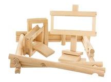 Ατελές ξύλινο σπίτι Στοκ εικόνες με δικαίωμα ελεύθερης χρήσης