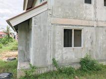 Ατελές σπίτι για την πώληση στην Ταϊλάνδη Στοκ Φωτογραφία