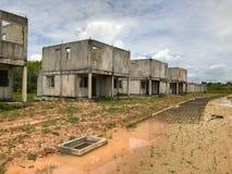 Ατελές σπίτι για την πώληση στην Ταϊλάνδη Στοκ Εικόνα