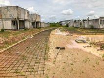 Ατελές σπίτι για την πώληση στην Ταϊλάνδη Στοκ φωτογραφίες με δικαίωμα ελεύθερης χρήσης