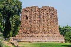 Ατελής μιναρές Alai Minar σε Qutub σύνθετο στο Δελχί, Indi στοκ φωτογραφία με δικαίωμα ελεύθερης χρήσης