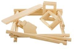 ατελής ξύλινος σπιτιών Στοκ φωτογραφία με δικαίωμα ελεύθερης χρήσης