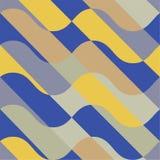 Ατελείωτα ζωηρόχρωμα γεωμετρικά άνευ ραφής σχέδια Ελεύθερη απεικόνιση δικαιώματος