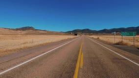 Ατελείωτος δρόμος μέσω της ερήμου της Γιούτα φιλμ μικρού μήκους
