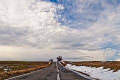 Ατελείωτος δρόμος Στοκ φωτογραφία με δικαίωμα ελεύθερης χρήσης