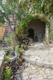 Ατελιέ στο χωριό Άγιος Montan στην περιοχή Ardeche Fra Στοκ Εικόνες