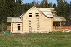 Ατελές σπίτι των ακτίνων χωρίς στέγη Στοκ Εικόνα