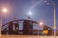 Ατελής γέφυρα Στοκ Εικόνες