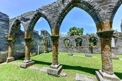 Ατελής εκκλησία - Βερμούδες στοκ εικόνες με δικαίωμα ελεύθερης χρήσης