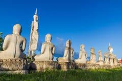 Ατελής ελλιπής συγκεκριμένη εικόνα του Βούδα στοκ εικόνες