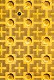 Ατελής κεκλιμένη ράμπα λακκακιών στοκ εικόνα
