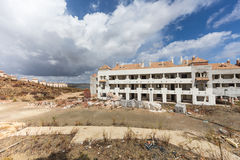 Ατελής οικοδόμηση κατοικημένου κτηρίου στοκ φωτογραφίες με δικαίωμα ελεύθερης χρήσης