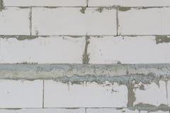 Ατελής συμπαγής τοίχος στοκ φωτογραφίες με δικαίωμα ελεύθερης χρήσης