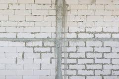 Ατελής συμπαγής τοίχος στοκ εικόνες