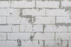 Ατελής συμπαγής τοίχος στοκ φωτογραφία με δικαίωμα ελεύθερης χρήσης
