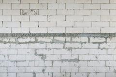 Ατελής συμπαγής τοίχος στοκ εικόνες με δικαίωμα ελεύθερης χρήσης
