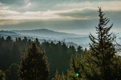 ατελείωτα βουνά Στοκ φωτογραφίες με δικαίωμα ελεύθερης χρήσης