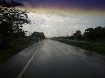 Ατελείωτη βροχή Στοκ Εικόνες