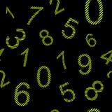 Ατελείωτοι αριθμοί σχεδίων με τα λωρίδες Στοκ Εικόνες