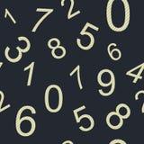 Ατελείωτοι αριθμοί σχεδίων Στοκ φωτογραφία με δικαίωμα ελεύθερης χρήσης