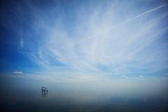 Ατελείωτος καθρέφτης Στοκ Φωτογραφία
