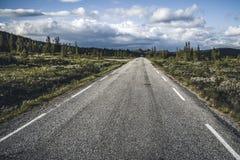 ατελείωτος δρόμος Στοκ Εικόνες