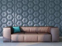 Ατημέλητος καναπές Στοκ Εικόνες