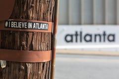 Ατλάντα: το κεφάλαιο του νέου νότου στοκ φωτογραφίες