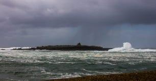 Ατλαντικά κύματα, Ιρλανδία Στοκ φωτογραφία με δικαίωμα ελεύθερης χρήσης