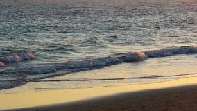 Ατλαντικός Ωκεανός στο ηλιοβασίλεμα φιλμ μικρού μήκους