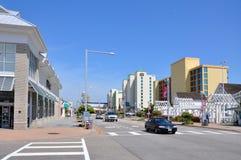 Ατλαντικό Ave, παραλία της Βιρτζίνια, Βιρτζίνια, ΗΠΑ Στοκ εικόνες με δικαίωμα ελεύθερης χρήσης