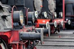 Ατμομηχανές ατμού στοκ φωτογραφίες με δικαίωμα ελεύθερης χρήσης