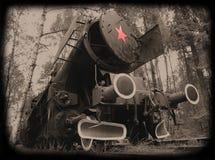 ατμομηχανή αναδρομική στοκ φωτογραφία