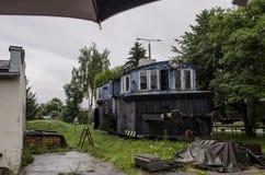 Ατμομηχανή ατμού, σιδηρόδρομος στοκ εικόνες