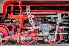 Ατμομηχανή ατμού στη Γερμανία στοκ εικόνες με δικαίωμα ελεύθερης χρήσης