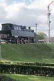 Ατμομηχανή ατμού στο μουσείο στοκ εικόνες