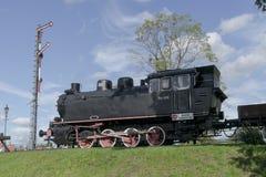 Ατμομηχανή ατμού στο μουσείο στοκ φωτογραφία με δικαίωμα ελεύθερης χρήσης