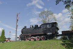 Ατμομηχανή ατμού στο μουσείο στοκ φωτογραφίες με δικαίωμα ελεύθερης χρήσης