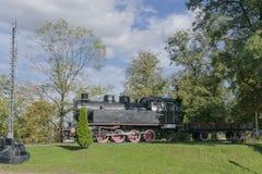 Ατμομηχανή ατμού στο μουσείο στοκ εικόνα με δικαίωμα ελεύθερης χρήσης