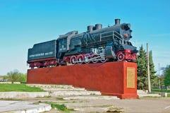 Ατμομηχανή (μνημείο) στοκ εικόνα με δικαίωμα ελεύθερης χρήσης