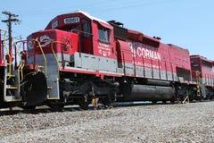 Ατμομηχανή 8861 σιδηροδρόμου RJ Corman Στοκ Εικόνες