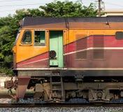 Ατμομηχανή diesel, τραίνο στην Ταϊλάνδη Στοκ φωτογραφία με δικαίωμα ελεύθερης χρήσης