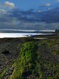 ατμοσφαιρική ακτή Αγγλία Στοκ Εικόνες