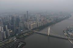 Ατμοσφαιρική ρύπανση στην Κίνα στοκ εικόνες με δικαίωμα ελεύθερης χρήσης