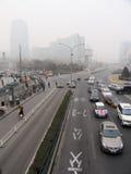 Ατμοσφαιρική ρύπανση στο Πεκίνο Στοκ φωτογραφία με δικαίωμα ελεύθερης χρήσης