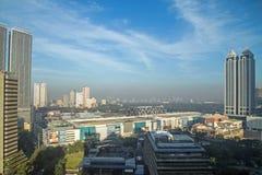 Ατμοσφαιρική ρύπανση της Μανίλα Στοκ εικόνες με δικαίωμα ελεύθερης χρήσης